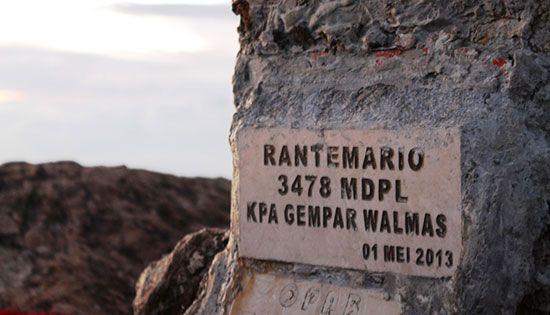 Wah Inilah 10 Gunung Tertinggi Di Indonesia Tentik